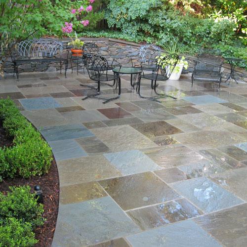 patio stone stone pavers gravel