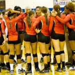 Seven Lakes vs CyWoods Area volleyball championship