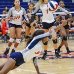 CFISD HS #12 volleyball vs Clear Brook
