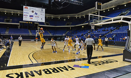 Basketball at the Berry Center