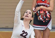 Langham Creek High School junior Erica Lowery was among five CFISD athletes named to the Texas Association of Volleyball Coaches Class 6A All-State Team. (CFISD courtesy photo)