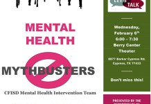 Mental Health mythbusters poster