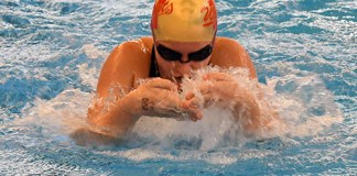 Cypress Woods High School senior Erin Strautman was among the 284 swimmers and divers named to the academic all-district teams. (CFISD courtesy photo)