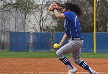Cypress Creek High School senior pitcher Idalia Alarcon was voted the District 17-6A Most Valuable Player by league coaches. Alarcon helped lead the Cougars to the area round of the postseason. (CFISD courtesy photo)