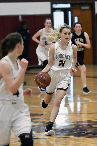 Cy-Fair High School junior Peyton Gerold was among the 45 girls' basketball players named to the Academic All-District 17-6A team. (CFISD courtesy photo)