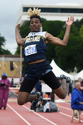 Cypress Ranch High School graduate Victor Collins was among the qualifiers for the Academic All-District 14-6A Boys' Track Team. (CFISD courtesy photo)