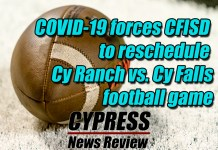 (Cypress News Review photo by Creighton Holub)