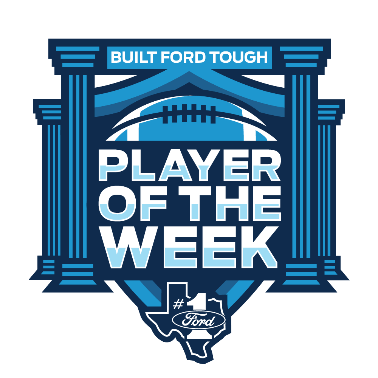 Built Ford Tough Player of the Week Award. (Photo courtesy of Ford)