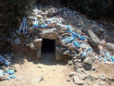 The Gregoris Afxentiou museum / hideout at Machairas