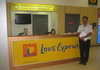 Tourist Information Office CTO, International Paphos Airport