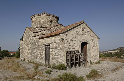Country Church of Archangel Michael in Kato Lefkara
