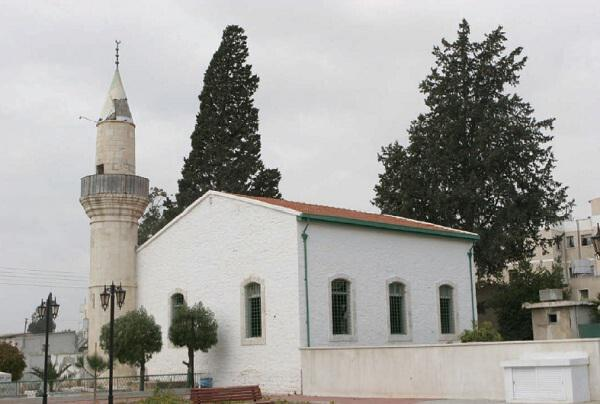 The Meskit Mosque in the town of Limassol