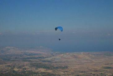 Paragliding in Cyprus Nose Jupiter