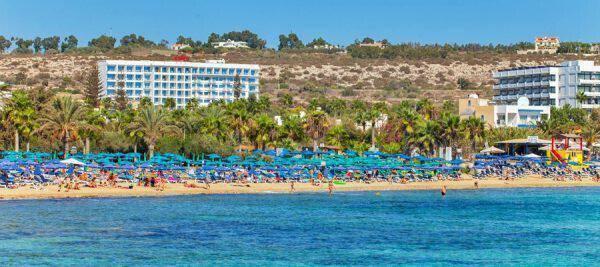 Ελεύθερη επαρχία Αμμοχώστου Παραλία Πανταχού – Μπλε Σημαία