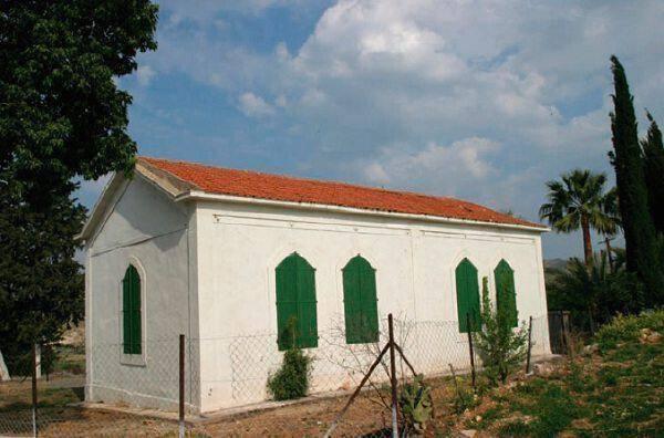 Το τζαμί στο χωριό Αγία Βαρβάρα