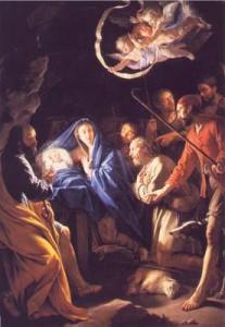 adoration des bergers par Philippe de Champaigne 1628-f7ee6