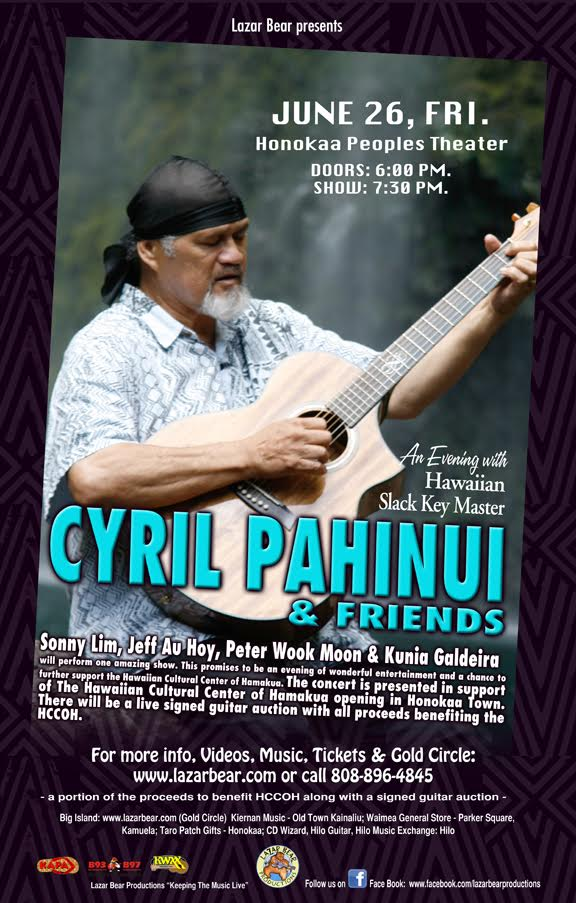 Cyril in Honokaa Fri., Jun. 26, 2015.
