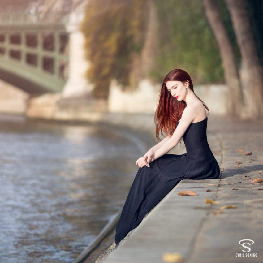 Séance de portrait fineart par le photographe Cyril Sonigo à Paris