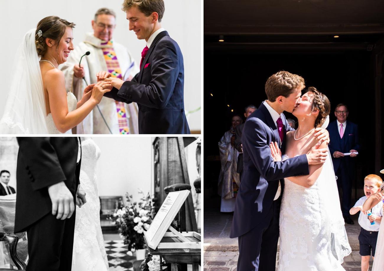 Mariage à l'Église Saint-Jean-Baptiste de Sceaux