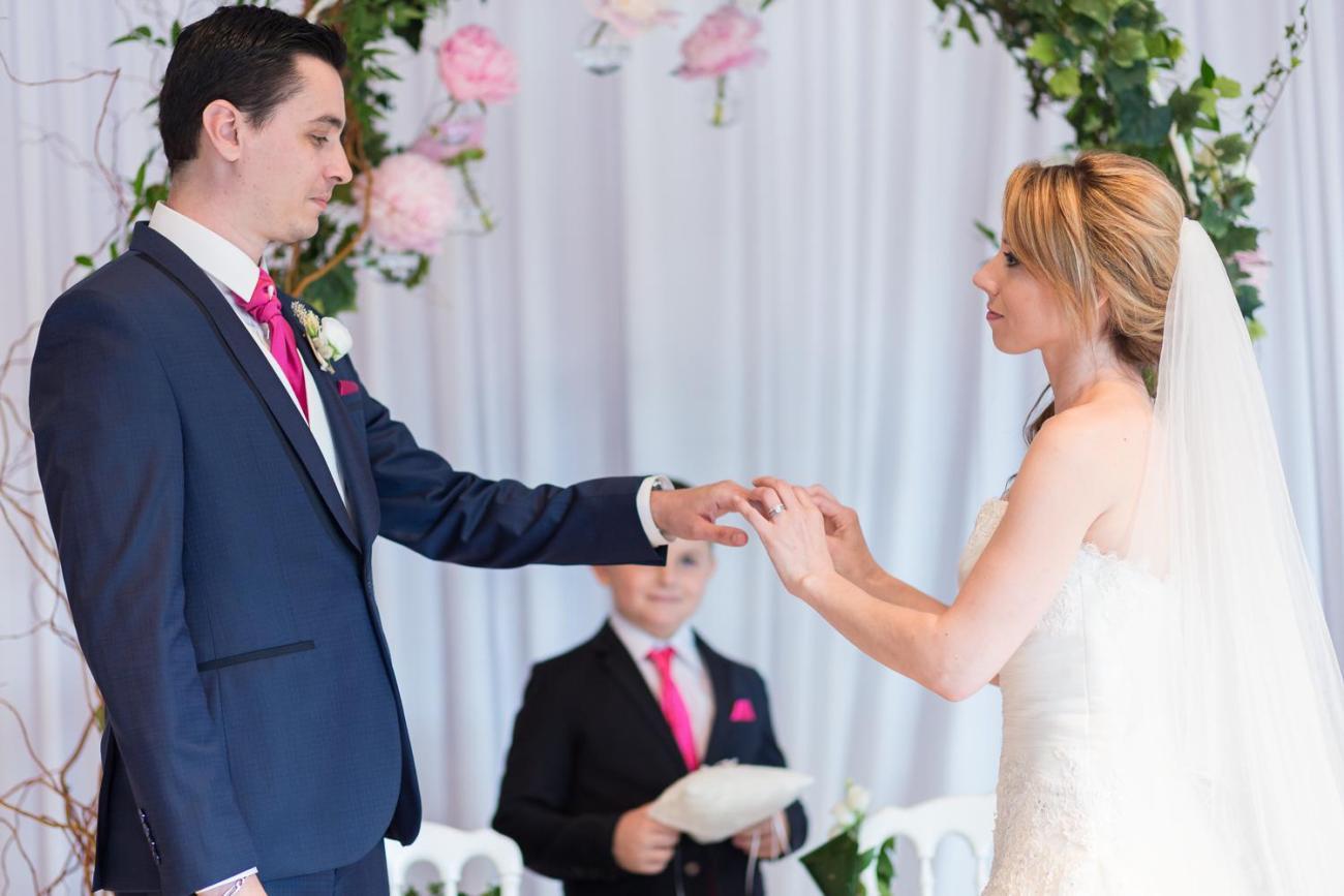 Cérémonie laïque d'un mariage au Domaine de la Butte Ronde à La Boissière-École