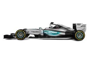 Mercedes W06 Hybrid 2015 bok