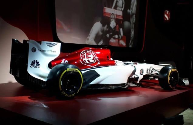 Alfa Romeo Sauber F1 Team prezentacja 04