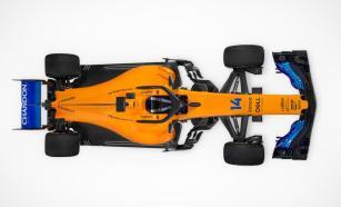 McLaren MCL33 góra prezentacja
