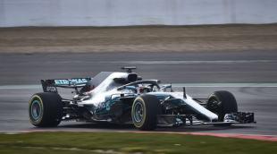 Mercedes W09 Hamilton skos prezentacja