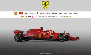 Scuderia Ferrari SF71H bok1