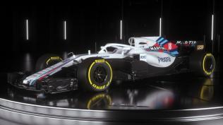 Williams FW41 skos grafika