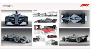 Koncept bolidu F1 na 2021 rok grafika 02