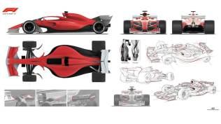 Koncept bolidu F1 na 2021 rok grafika 03