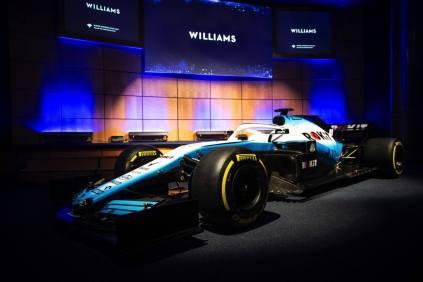 2019 ROKiT Williams Racing malowanie prezentacja 01