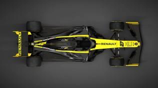 2019 Renault R.S.19 prezentacja grafika góra
