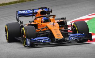2019 Testy McLaren Sainz Barcelona