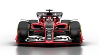 Wizualizacja bolidu F1 na sezon 2021 02
