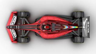 Wizualizacja bolidu F1 na sezon 2021 03