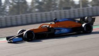 2020 Testy Barcelona McLaren Norris