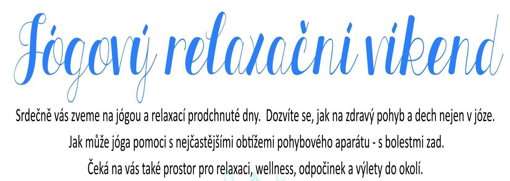 Relaxačné joga