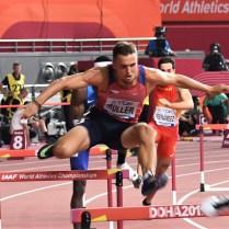 Vít Muller, 400 m přek., MS 2019 (9)