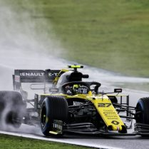 Nico Hulkenberg (GER) Renault F1 Team RS19. Brazilian Grand Prix, Friday 15th November 2019. Sao Paulo, Brazil.