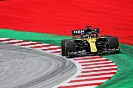 Daniel Ricciardo (AUS) Renault F1 Team RS20. Austrian Grand Prix, Friday 3rd July 2020. Spielberg, Austria.