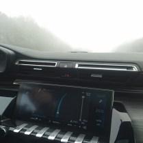 Peugeot v mlze