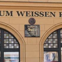 Loket pamětní deska J. Goethe