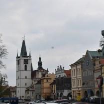 Litoměřice dům kalich a kostel