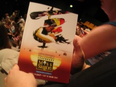 miss saigon @ the brochure cover