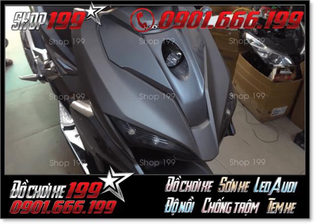 Độ chế Đèn trợ sáng L4 của xe Honda Air Blade 150cc 2017 ở Sài Gòn có giá thoải mái không?