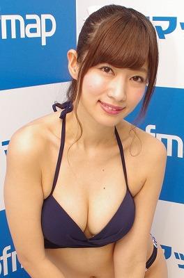 恵比寿マスカッツ・石岡真衣が手ブラに挑戦!「ドキドキしちゃいました!」の画像1