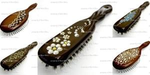 hair brushes with swarovski