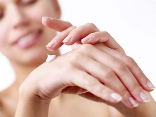 Moisturise your hands